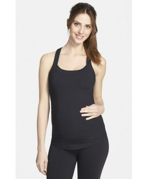 Ingrid & Isabel Racerback Maternity Tank Top