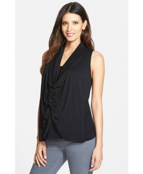 Maternal America Draped Maternity/nursing Top