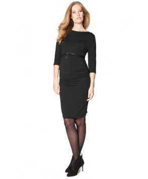 Seraphine 'Tessa' Ruched Shift Maternity Dress