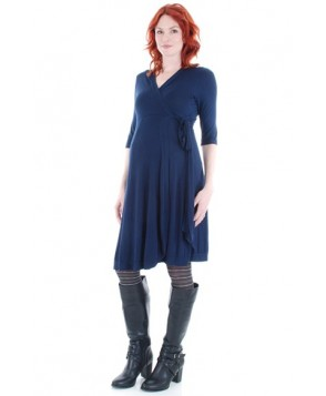 Everly Grey 'Kaitlyn' Maternity Wrap Dress