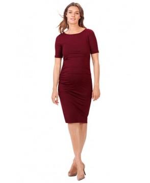 f5d1afb38cb Isabella Oliver Ruched Maternity Dress