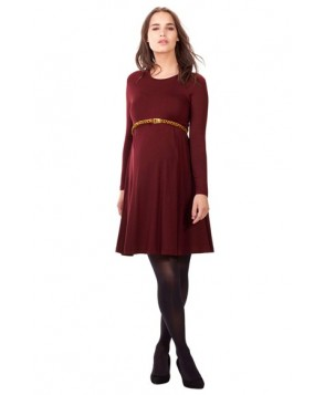 Isabella Oliver 'Danbury' Belted Maternity Skater Dress