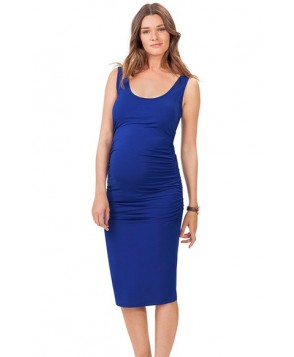 Isabella Oliver 'Ellis' Side Ruched Maternity Tank Dress