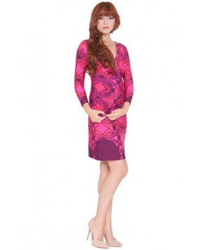 Olian 'Suzy' Print Maternity Dress
