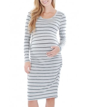Everly Grey 'Hanh' Maternity T-Shirt Dress