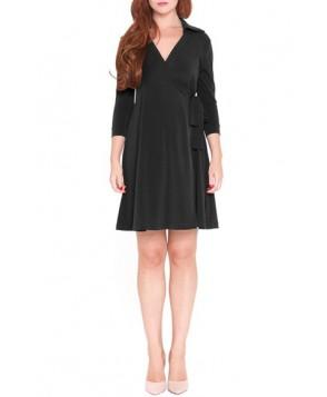 Olian 'Dina' Maternity Wrap Dress
