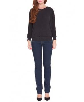 Olian 'Victoria' Dolman Sleeve Maternity Sweatshirt