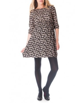 Seraphine 'Birdie' Print Maternity Dress