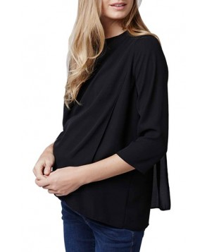 Topshop Structured Maternity/nursing Top