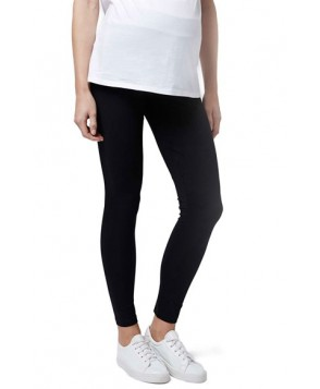 Topshop Ankle Maternity Leggings - Black