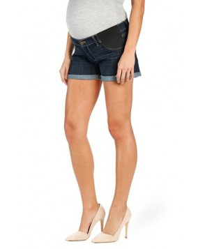Paige 'Jimmy Jimmy' Cuffed Denim Maternity Shorts