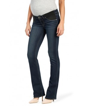 Paige 'Transcend - Manhattan' Bootcut Maternity Jeans