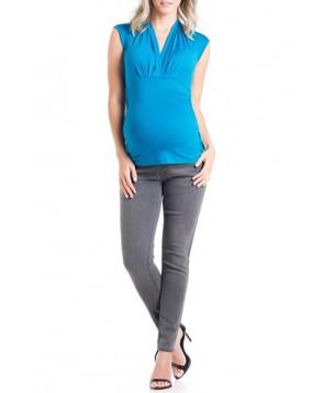 Lilac Clothing 'Megan' V-Neck Maternity Top