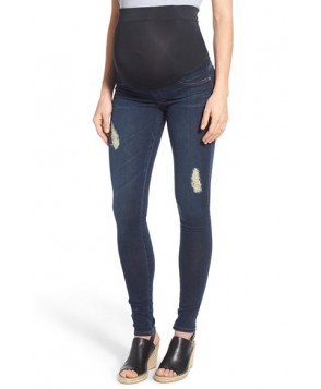 James Jeans 'Twiggy' Denim Maternity Leggings