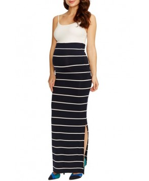 Rosie Pope 'Jessica' Stripe Maternity Maxi Skirt