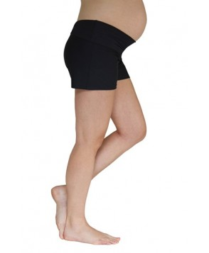 Mermaid Maternity Foldover Maternity Swim Shorts