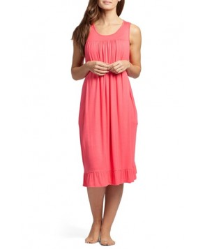 Savi Mom 'The Ruffled' Sleeveless Maternity/nursing Nightgown