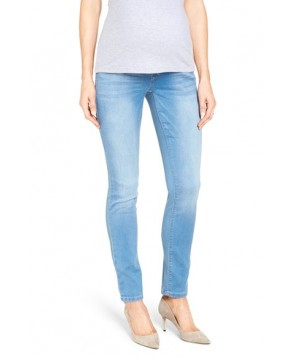 18 Denim 'Butter' Maternity Skinny Jeans