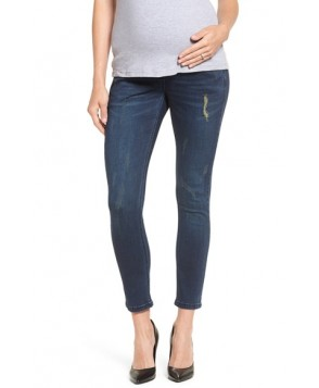 The Urban Ma Distressed Skinny Maternity Jeans