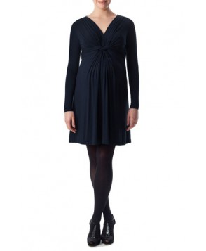 Pietro Brunelli 'Madonna' Twist Detail Jersey Maternity Dress