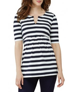 Isabella Oliver 'Baywood' Stripe Maternity Top