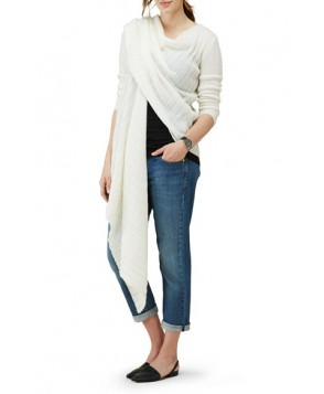 Isabella Oliver Maternity Wrap Cardigan, /Large - White