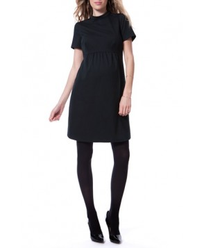 Seraphine 'Acadia' Mock Neck Maternity Dress
