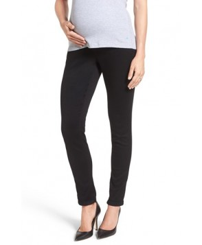 18 Denim 'Ankle Biter' Over The Bump Rolled Cuff Maternity Skinny Jeans