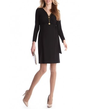 Seraphine 'Tiana' Maternity Wrap Dress