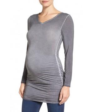 Tart Maternity 'Abbi' Ruched Maternity Tunic