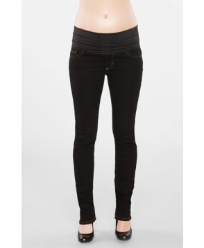 Maternal America Straight Leg Stretch Maternity Jeans