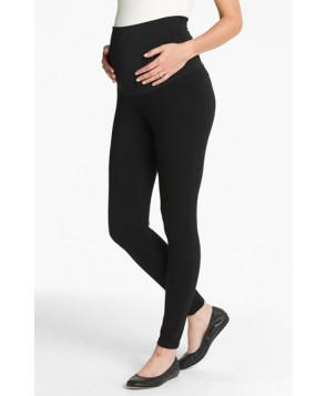 Maternal America 'Belly Support' Maternity Leggings