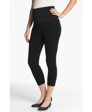 Maternal America Post Support Crop Maternity Leggings