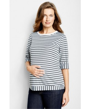Maternal America 'Sailor' Maternity Top