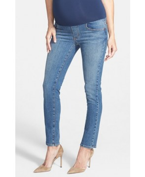 Maternal America Maternity Skinny Ankle Jeans