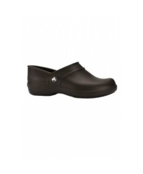 Crocs Neria Work closed back nursing clog - Espresso -