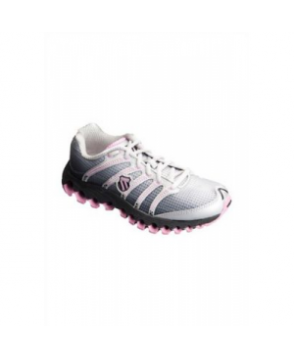 K-Swiss Tubesrun ladies athletic shoe - White/pink