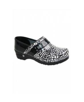 Koi by Sanita Lindsey Lava nursing shoe - Black/white