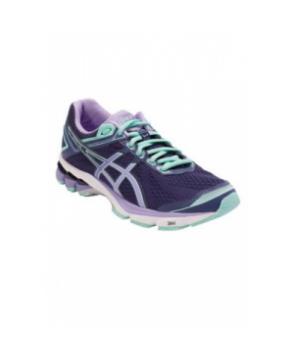 Asics women's athletic shoe idnight/Violet/Beach Glass