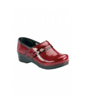 Sanita Original Emory womens nursing shoe - Red