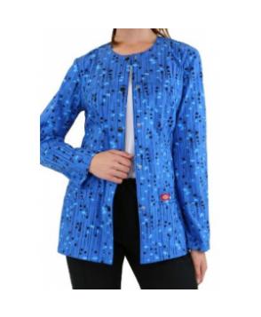 Dickies Gen Flex Kersplat print scrub jacket - Kersplat