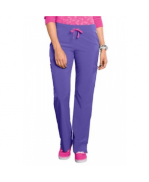 Smitten Magic Hottie slim-fit scrub pant ystic Violet