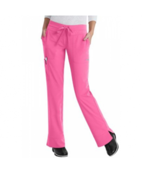 Greys Anatomy Signature Callie 3-pocket low rise cargo scrub pant - Island Pink