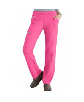 Greys Anatomy Active 3-pocket track scrub pant - Candy/Moonstruck