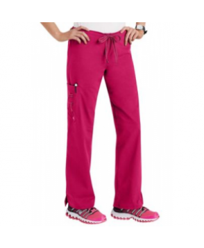 Life is Peachy Kari scrub pant - Pozatively Pink - PXL