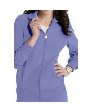 Infinity by Cherokee zip front warm up scrub jacket with Certainty - Ceil