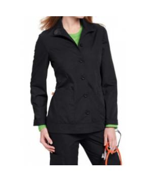 Orange Standard Daytona scrub jacket - Black