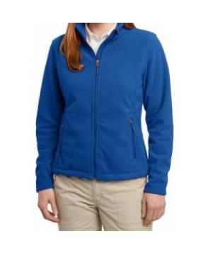 Port Authority Womens Fleece warm-up jacket - Royal