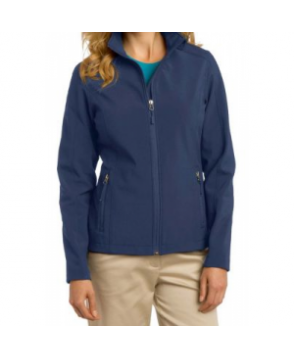 Port Authority ladies core soft shell jacket - Dress Blue Navy