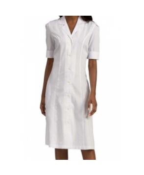 Med Couture Priscilla Princess Seam Dress - White